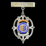 ​  A Hastings and Saint Leonards Chamber of Commerce Chairman's Badge for 1946, as worn by B.A. H...