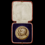 France: Commemorative Medal for the First French Aerial Crossing of the North Atlantic from East ...