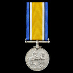 British War Medal 1914-1919 awarded to Serjeant C. Hopwood, Liverpool Regiment, who saw service o...