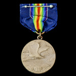 United States of America: World War 1 Pennsylvania National Guard Service Medal.