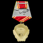 """Russia - Soviet: Order of Lenin, 6th type """"oval"""" 5 sided suspension, gold, platinum and enamels, ..."""