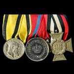 Germany - Imperial and Württemberg: Group of 3 awards comprising: Wurttemberg: Military Merit Med...