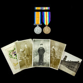 Great War Pair to Stoker 2nd Class F.A. Moore, Royal Navy.