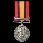 A Queen's South Africa Medal 1899-1902, 1 Clasp: Cape Colony, awarded to Mr H.W. Penn, Imperial M...