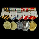 Russia – Soviet: A good long service Order of Lenin and Order of the Red Banner group of 5 medals...