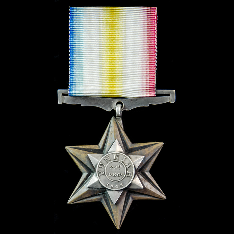 Punniar Star 1843, fitted wit. | London Medal Company