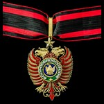Albania - Republic of: Order of Skanderbeg, 2nd type 1940-1944, 2nd Class Grand Officer Grade nec...