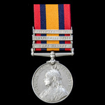Queen's South Africa Medal 1899-1902, 3 clasps: Cape Colony, Orange Free State, South Africa 1901...
