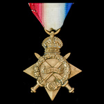 1914-1915 Star, awarded to Private W.C. Prime, Royal Marine Light Infantry, who saw service for t...