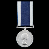 Royal Navy Long Service and Good Conduct Medal, EIIR bust, awarded to Acting Chief Control Electr...