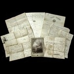 An interesting set of original documents relating to Sergeant Piper Robert McKenzie, 1st Battalio...