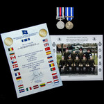 Afghanistan Operation Herrick pair awarded to Airtrooper G.J. Millican, Army Air Corps, who was a...