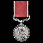 Bandmaster's Army Long Service and Good Conduct Medal, GVR Fm. bust, awarded to Bandmaster C.C. H...
