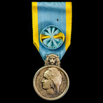 France: Medal of Honour for Physical Education and Sports (1946-1951), 1st Class Gold Grade, silv...