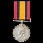 Queen's South Africa Medal 1899-1902, no clasp, awarded to Private F.G. Stransman, Worcester Town...