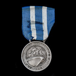 Italy: 10th International Nautical Exhibition of Genoa 1962 Medal, silver.