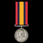 Queen's South Africa Medal 1899-1902, no clasp, awarded to Private F. De Villiers, Sutherland Tow...