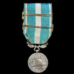 France - Colonial Medal, Second Official Type, 1914-62, 26mm, two clasps 'Maroc 1925' and 'Maroc ...
