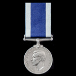 Royal Navy Long Service and Good Conduct Medal, GVI 1st type bust, awarded to Sergeant C. Hannafo...