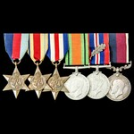 Second World War Middle East and North West Europe 1946 New Years Honours Mention in Despatches a...