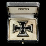 Germany – Third Reich: 1939 Iron Cross 1st Class, scarce brass-centred variant, non-maker marked ...