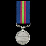 Kings African Rifles Distinguished Conduct Medal, GVR bust, unnamed original example. Very Rare.