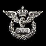 Germany - Imperial - Prussia: Prussian State Railway Company Silver Badge for 25 Years Service, 1...