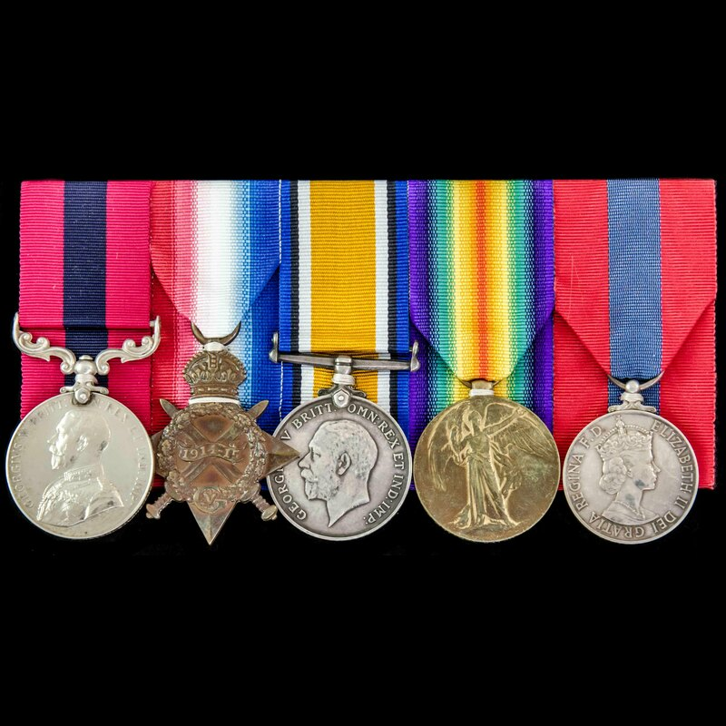 The superb Great War Third Ba. | London Medal Company