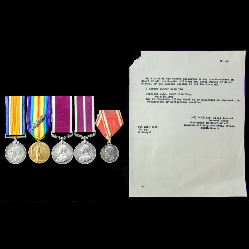 The rare Great War North Russ. | London Medal Company