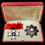 Poland: Polonia Restituta, First Class Commander's Set, comprising Breast Star and Neck Badge, in...