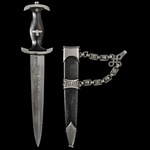 "Germany - Third Reich: Schutzstaffel SS-Ehrendolch 1936 pattern Chained ""Honour"" Dagger as issued..."