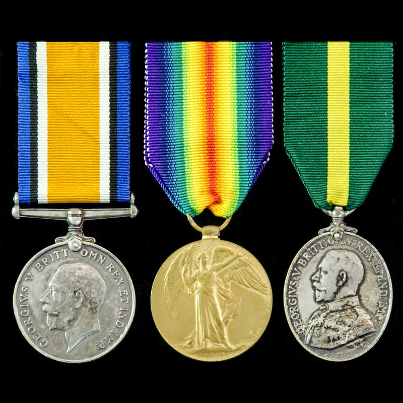 Great War pair and Territoria. | London Medal Company