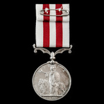 Indian Mutiny Medal 1857-1859, no clasp, awarded to a civilian, Henry Tapsell, who came from Panu...