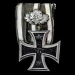 Germany - Imperial: A rare Iron Cross 1870, 2nd Class, not ring stamped, with the rare 25 Year Ju...