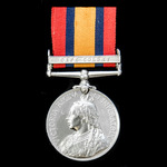  A Queen's South Africa Medal 1899-1902, 1 Clasp: Cape Colony, awarded to Private J. Harvey, 1s...