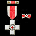 Germany – Federal Republic of Germany – BRD: German Red Cross Decoration, as issued to male recip...