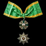 Germany – Imperial States – Duchy of Baden: Order of the Zähringer Lion in Gold, Grand Cross set ...