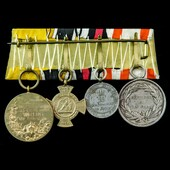 Germany – Imperial: A Prussian France-Prussian War group of 4 medals comprising; Prussia: Militar...