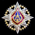   Thailand: Most Noble Order of the Crown of Thailand, Star of the Order of Thailand breast star...