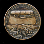 ​  Royal Engineers Balloon School Commemorative Bronze Medal Produced to Commemorate the First Pu...