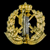 Germany – Imperial: Oldenburg War Veterans Association Badge for 25 years, with pin fitting for w...
