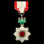 Japan - Order of the Rising Sun, 4th Class in silver and enamels