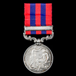 Defence of Lucknow First Relief Force Casualty's India General Service Medal 1854-1895, 1 Clasp: ...