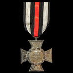 Imperial Germany: Honour Cross 1914-1918 without Swords for non-combatants, makers mark on revers...