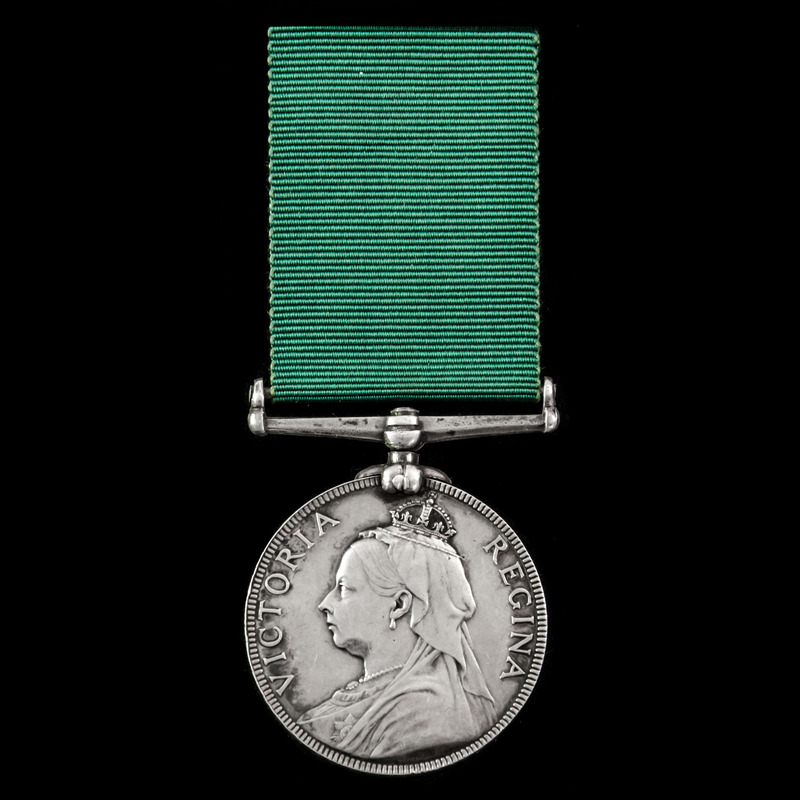 Volunteer Force Long Service . | London Medal Company