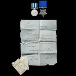 Egyptian War 1882 Casualty pair together with the War Office Posthumous Forwarding Letter for bot...