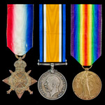 Great War First Day of the Battle of the Somme Casualty trio awarded to Private B. Thompson, 7th ...