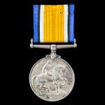 British War Medal awarded to Private A. Lees, 4th Battalion, Bedfordshire Regiment who was killed...