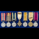 The regimentally fine South Africa Boer War Advance to Pretoria Distinguished Conduct Medal, Nort...