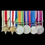 Army Meritorious Service Medal group to a Boer War and Great War veteran who also apparently saw ...
